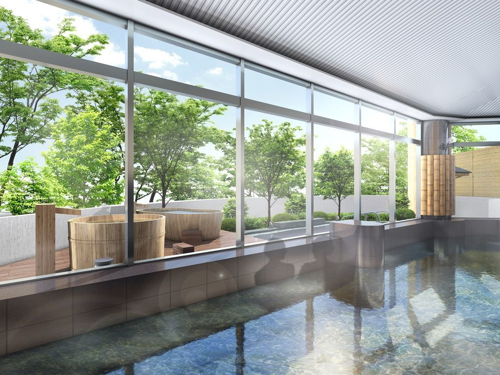 大浴場やレストランが自然のぬくもり感じる空間に!休暇村奥武蔵が4月26日 第一期リニューアルオープン