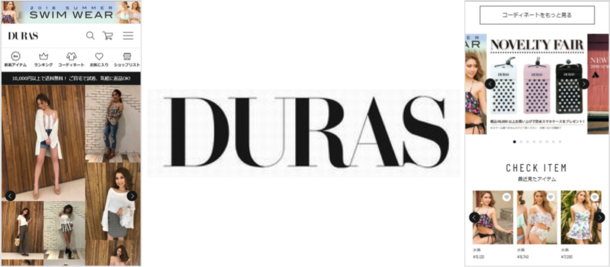 bcb5a4689a5 レディースアパレルDURASの公式通販サイト「DURAS OFFICIAL WEB STORE ...