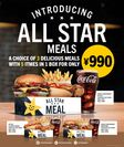 ALL STAR MEALS