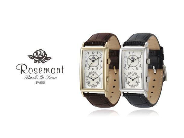 bfa8fea733 スイス製腕時計ブランド「Rosemont」が新シリーズを発表 60'sの雰囲気 ...