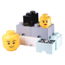 LEGO STORAGE HEADS DIF