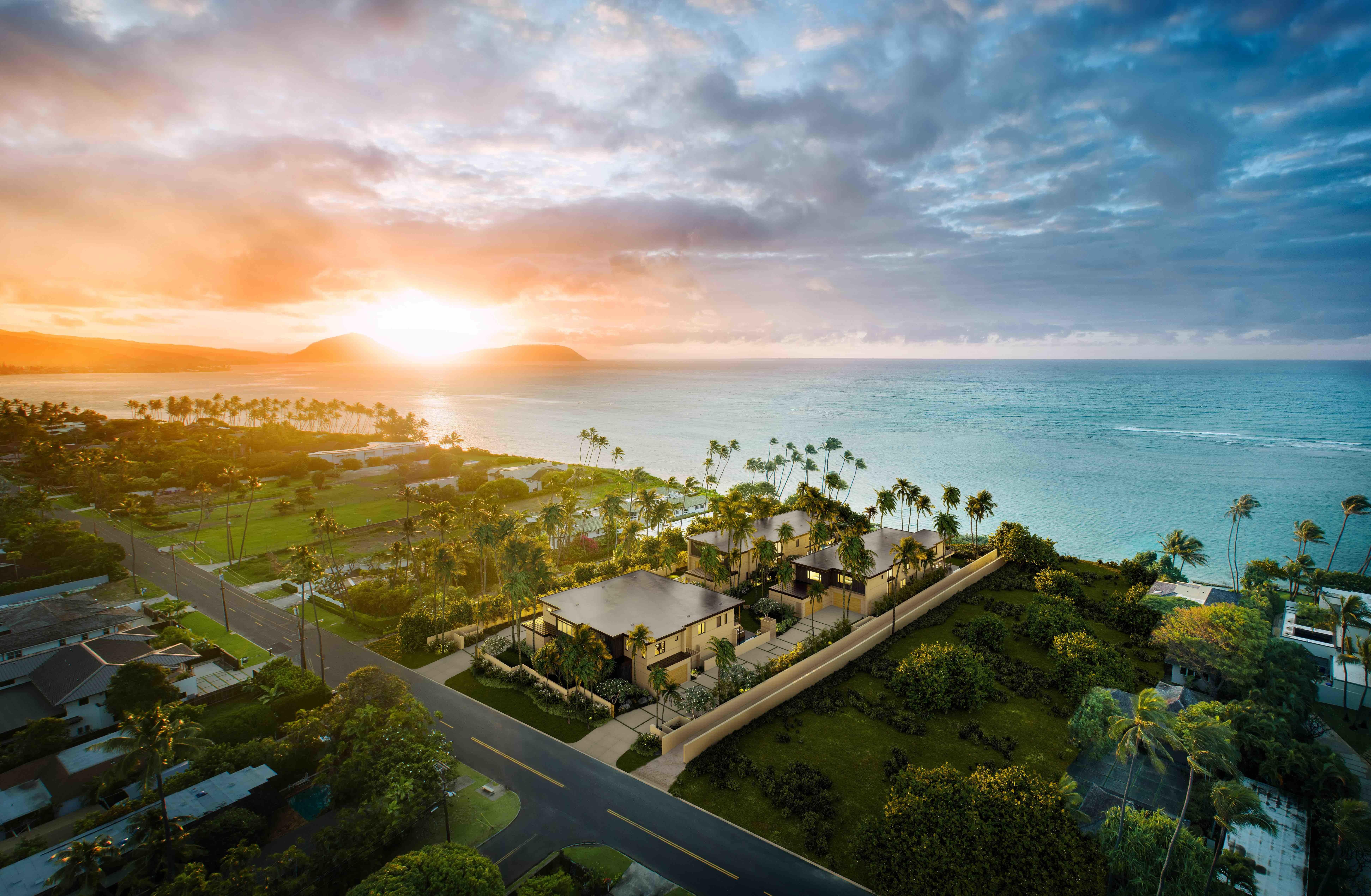 ハワイに最高級プライベートコンドミニアム誕生 kahala by the sea