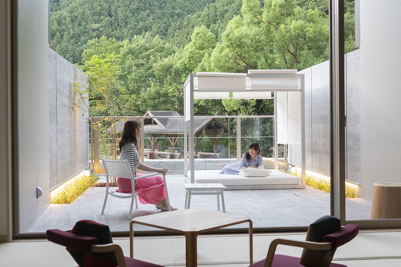 池袋から70分 ソトで遊ぶホテル 「休暇村奥武蔵」が7月10日グランドオープン 地元の木材「西川材」を活かしたコンセプトルームや、アウトドアリビング付ルーム