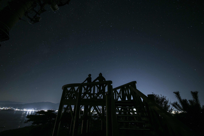 休暇村、「流れ星を6000集めるプロジェクト」 実施75日目の7月19日に目標の6000の目撃数を達成