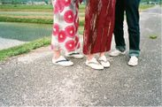 「Whole Love Kyoto」のメインアイテム HANAO SHOES