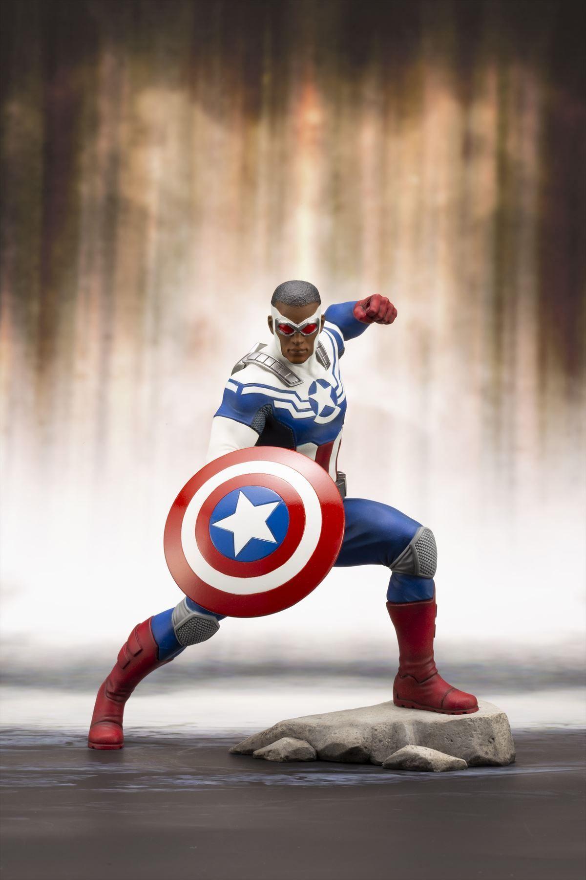ARTFX+ キャプテン・アメリカ(サム・ウィルソン)1