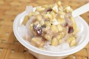 お料理プロデューサー 吾妻 聖子考案「くるみ味噌かき氷」