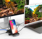 HyperDrive 8in1 USB-C Hub+Qi Wireless Charger Stand カット03