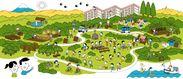 暮らし方リノベーターと一緒に作成した二宮団地のビジョンマップ