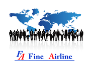 FINE AIRLINE ロゴ