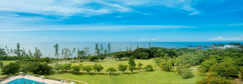 全室日本海が望める絶景リゾート「休暇村越前三国」