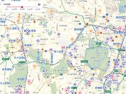 画像サンプル:新宿区周辺変化点情報