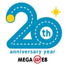 MEGA WEB 20th ロゴ