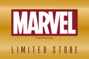 「MARVEL LIMITED STORE」ロゴ