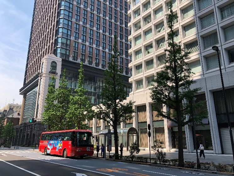停留所 東京駅丸の内(三菱ビル)