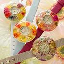 本物のお花の腕時計