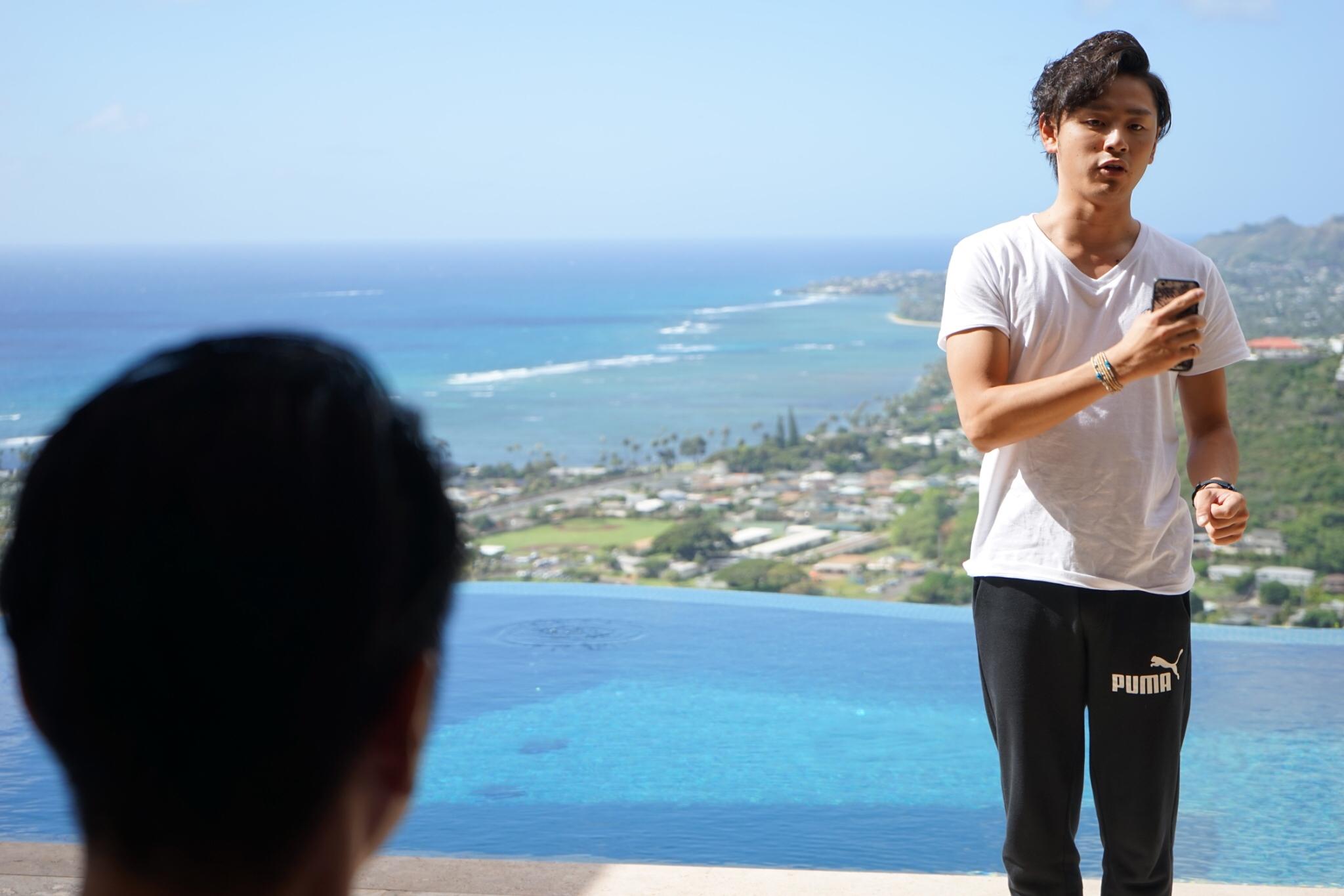 【Hawaii】採用責任者からのフィードバック風景