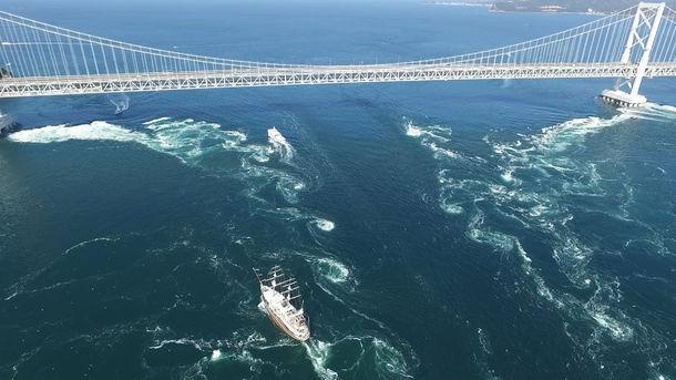 鳴門海峡の渦潮が兵庫県の「夏絶景」第1位に選出 夏の大潮時期も春や秋 ...