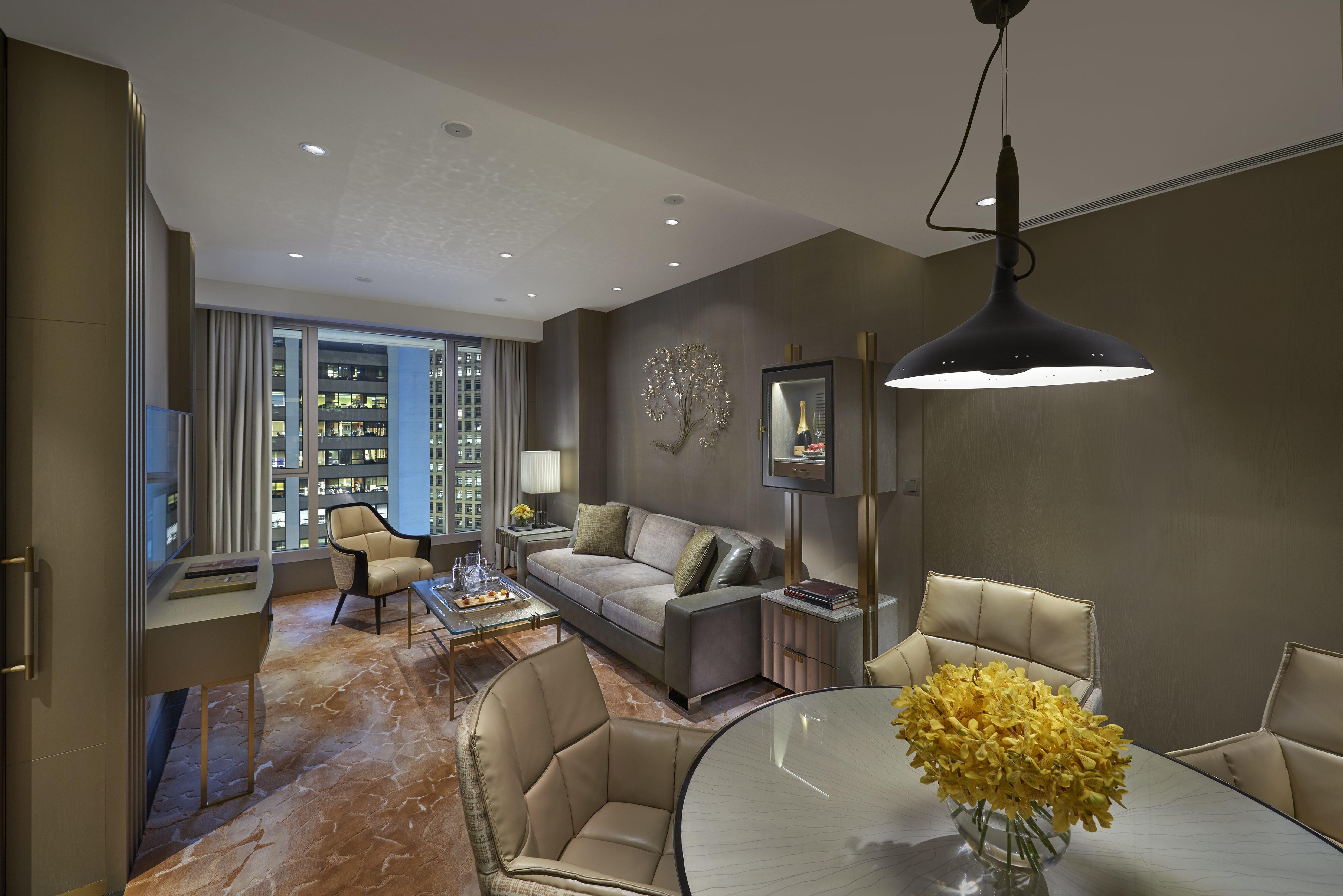 Landmark Mandarin Oriental Suite Living Room
