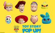 「TOY STORY POP UP!」メインビジュアル