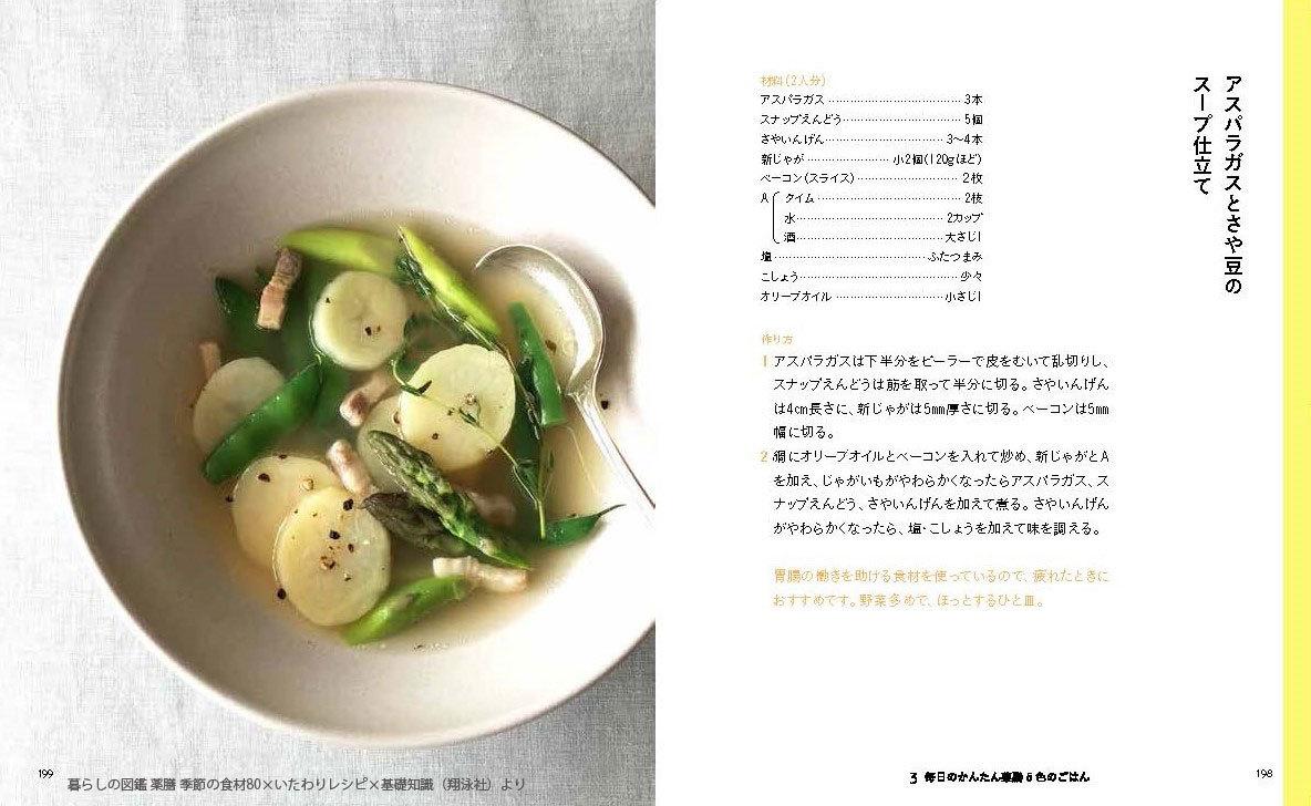 暮らしの図鑑 薬膳 季節の食材80×いたわりレシピ×基礎知識_中面4