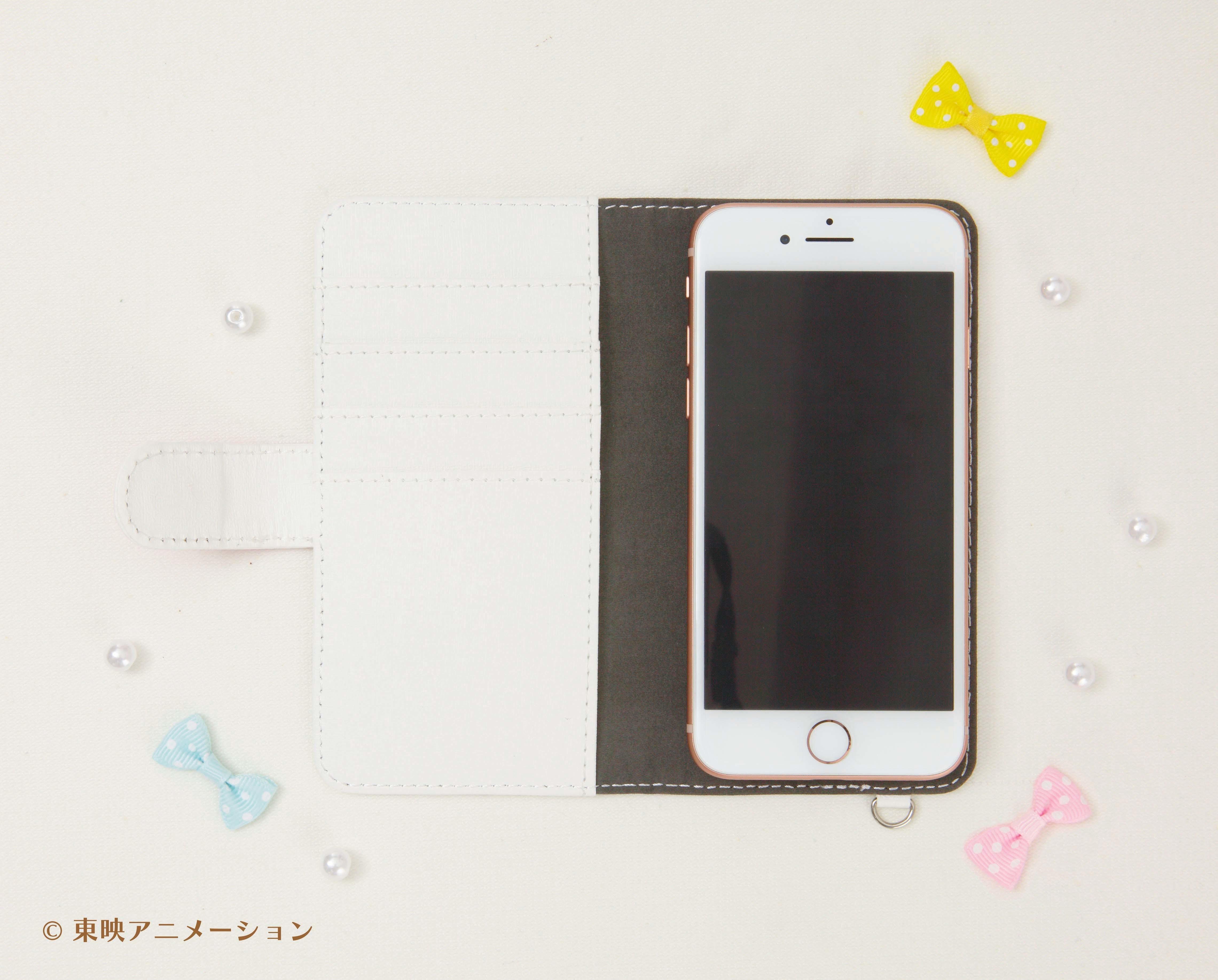 汎用手帳型スマートフォンケース(4)