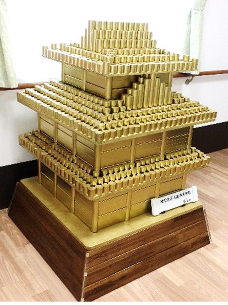 手すりの端材で作る 黄金の天守閣 介護リフォーム店だからこそのアイデア 高齢者をもっと元気に
