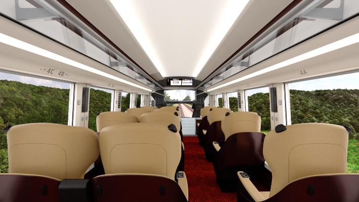 座席表 近鉄ひのとり 近畿日本鉄道(近鉄) 80000系