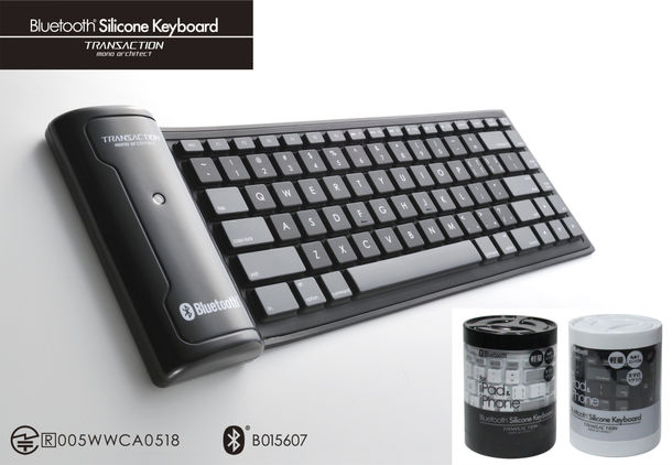 Bluetooth(R) Silicone Keyboard