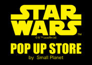 「STAR WARS POP UP STORE」ロゴ
