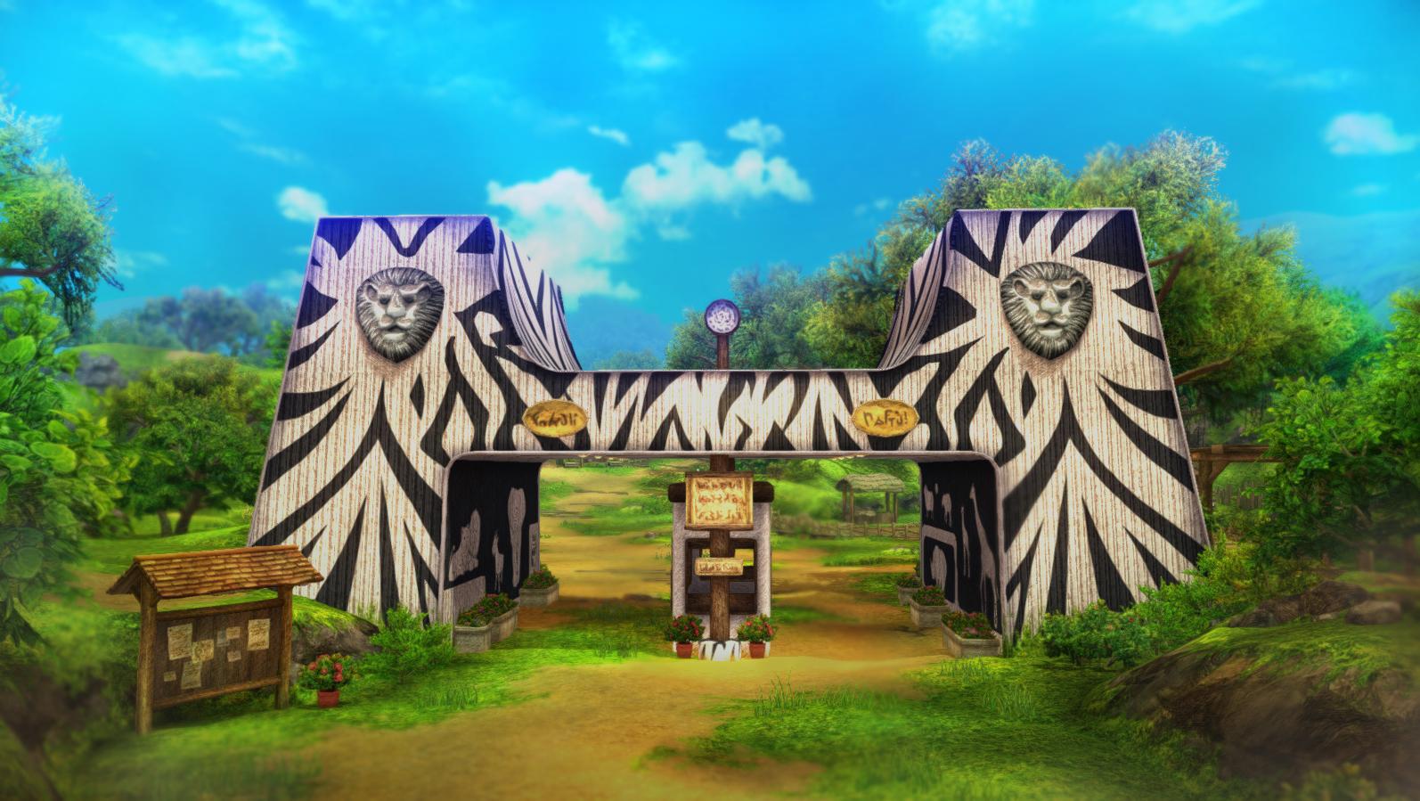 ゲーム内群馬サファリパーク