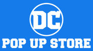 「DC POP UP STORE」ロゴ