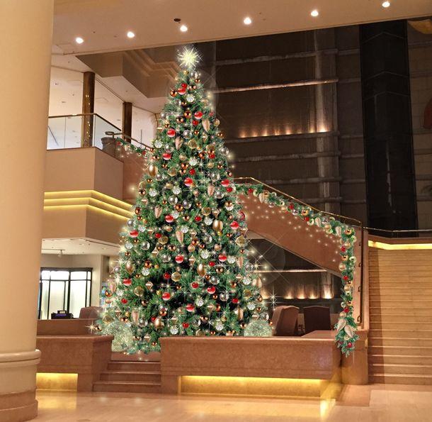 インターコンチネンタル・クリスマス 2019イルミネーション煌めくクラシカルなクリスマスツリーが11月8日(金)から登場!