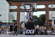 FIBA 3×3 World Tour  Utsunomiya Masters 2018の様子