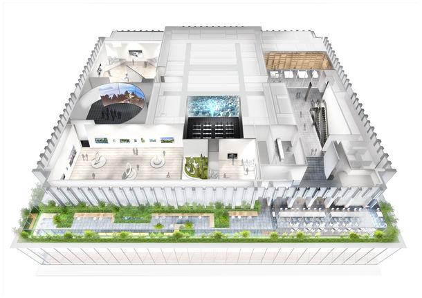 新TODAビル 情報発信型ミュージアムを開設