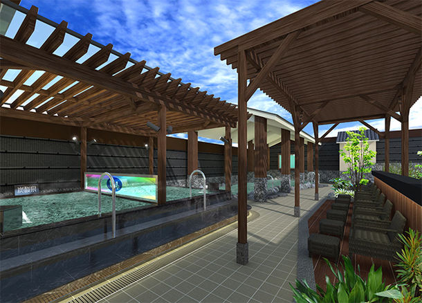 八王子 の 竜泉 寺 湯