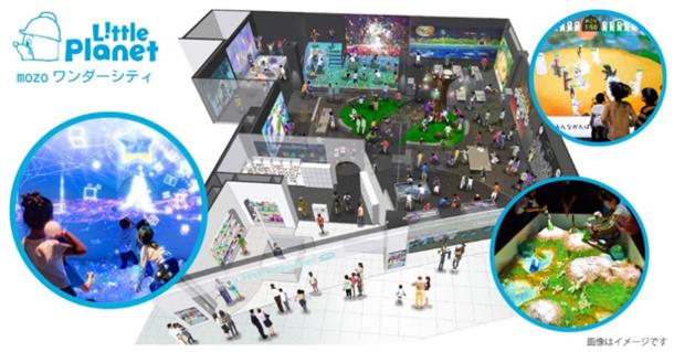 次世代型テーマパーク「リトルプラネット」 常設パークが中京エリア初出店  【mozoワンダーシティ】に2019年12月19日(木)オープン!