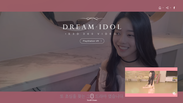 DREAM IDOL Teaser Page