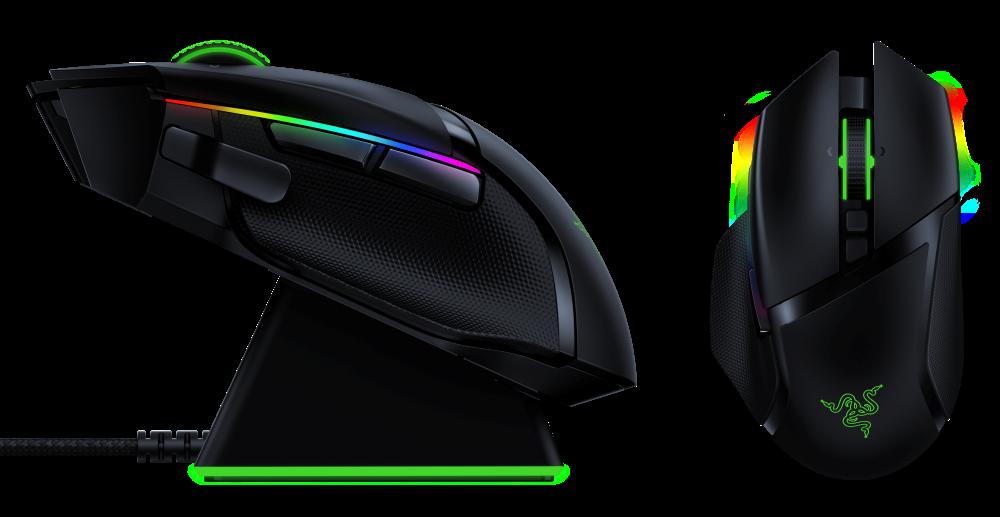Razer、FPSに最適なゲーミングマウス「Basilisk」シリーズ、高速無線技術「HyperSp... 画像