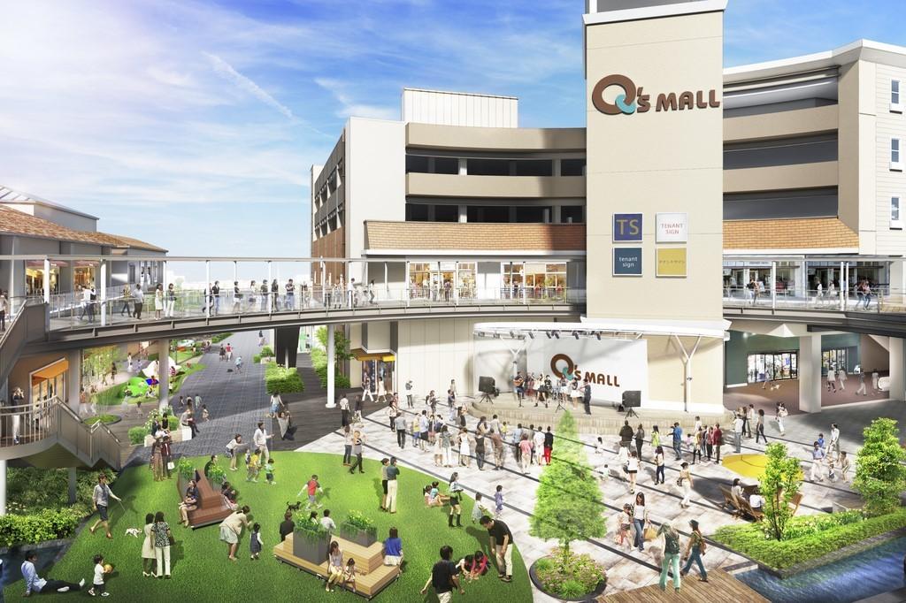 <みのおキューズモールが開業以来最大規模となるリニューアル>リニューアル50店舗(新規38店舗、移転... 画像