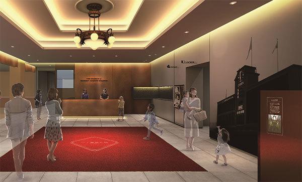 甲子園歴史館移転リニューアルに伴う展示計画の概要リニューアル後のイメージパースを初公開!~展示面積が... 画像
