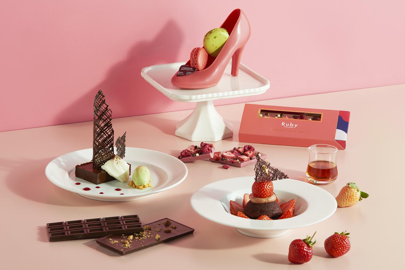 新作「ハイヒールチョコレート」や「ルビーチョコレート・ストロベリー」が登場!横浜チョコレートファクト... 画像