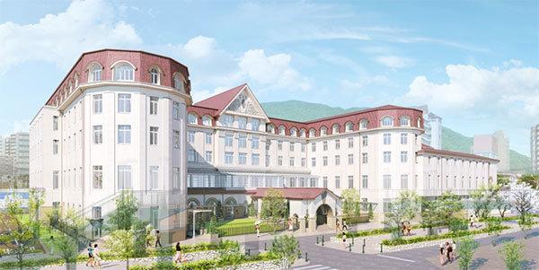 唯一の宝塚大劇場オフィシャルホテル新しい宝塚ホテルのロゴマーク、コンセプトおよびレストラン・宴会場等... 画像