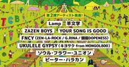 THE CAMP BOOK 2020 第2弾出演アーティスト発表