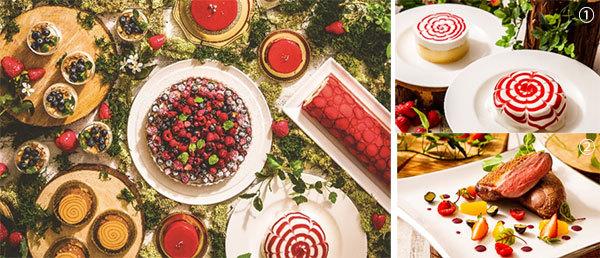 ホテル開業50周年を苺などベリー尽くしでお祝い!ベリービュッフェ ~Happy Berry Day ... 画像