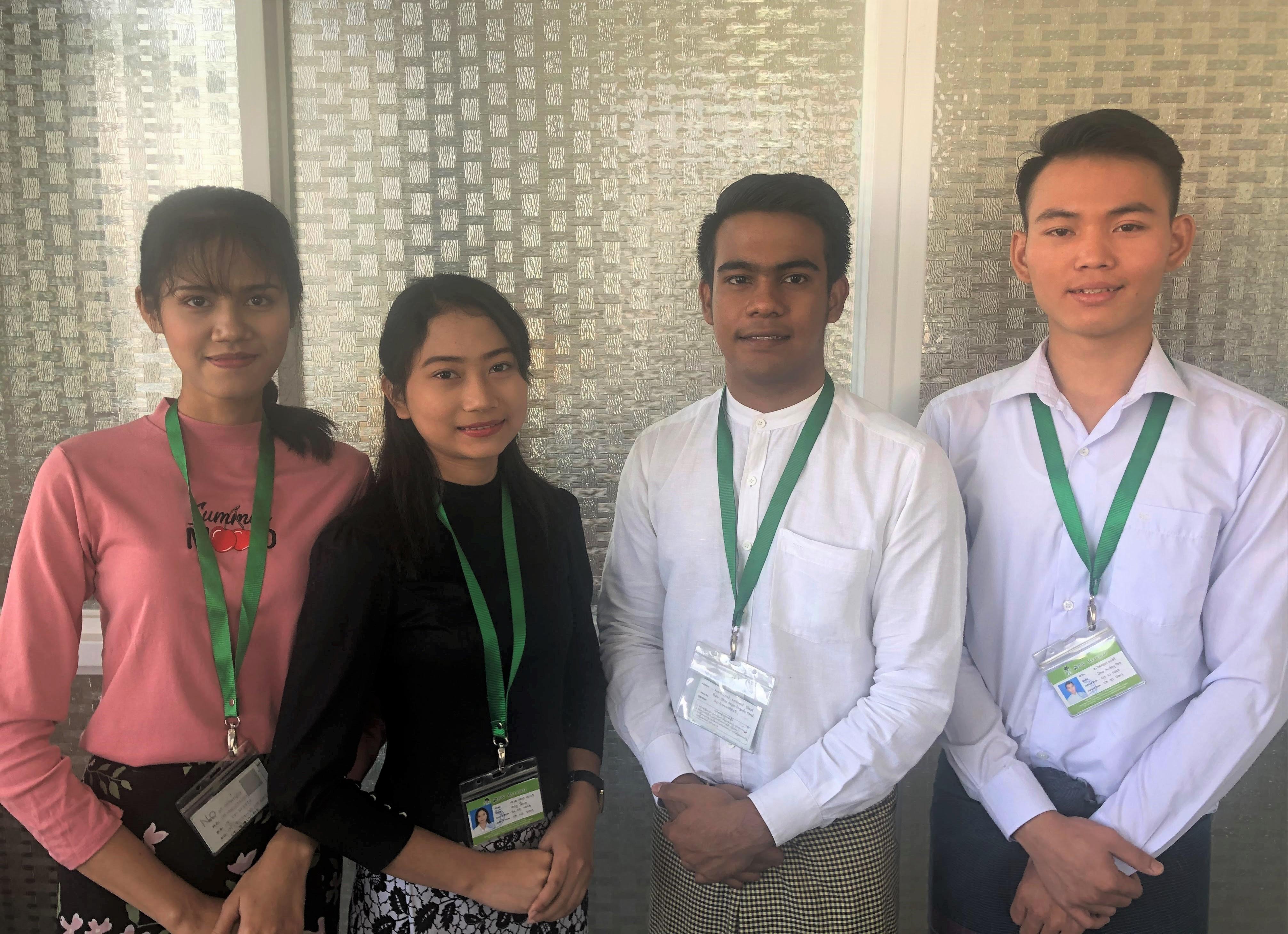ミャンマーで開催の特定技能試験(介護)にて、ONODERA USER RUNの学生が ...