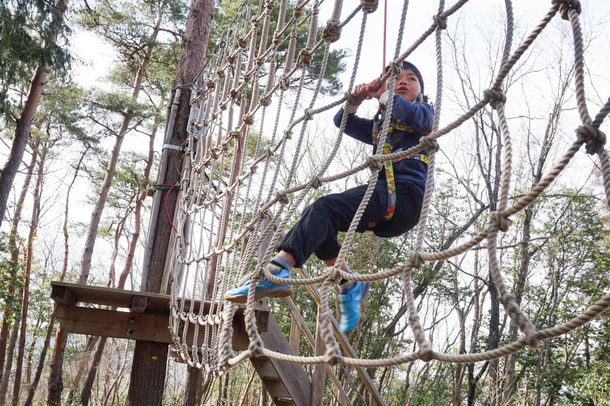 冒険の森で貸切アドベンチャー!!混雑がなく、換気の良い、安心安全な外遊び。冬こそ冒険を!冒険の森 in のせ・冒険の森 in おうじで開催決定 1月18日(月)~2月7日(日)まで。