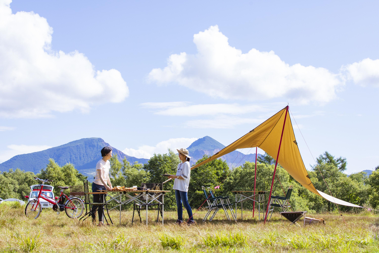 """国立・国定公園内にある休暇村のキャンプ場「食材なし」の""""手ぶらでキャンプ""""プランが新登場!"""