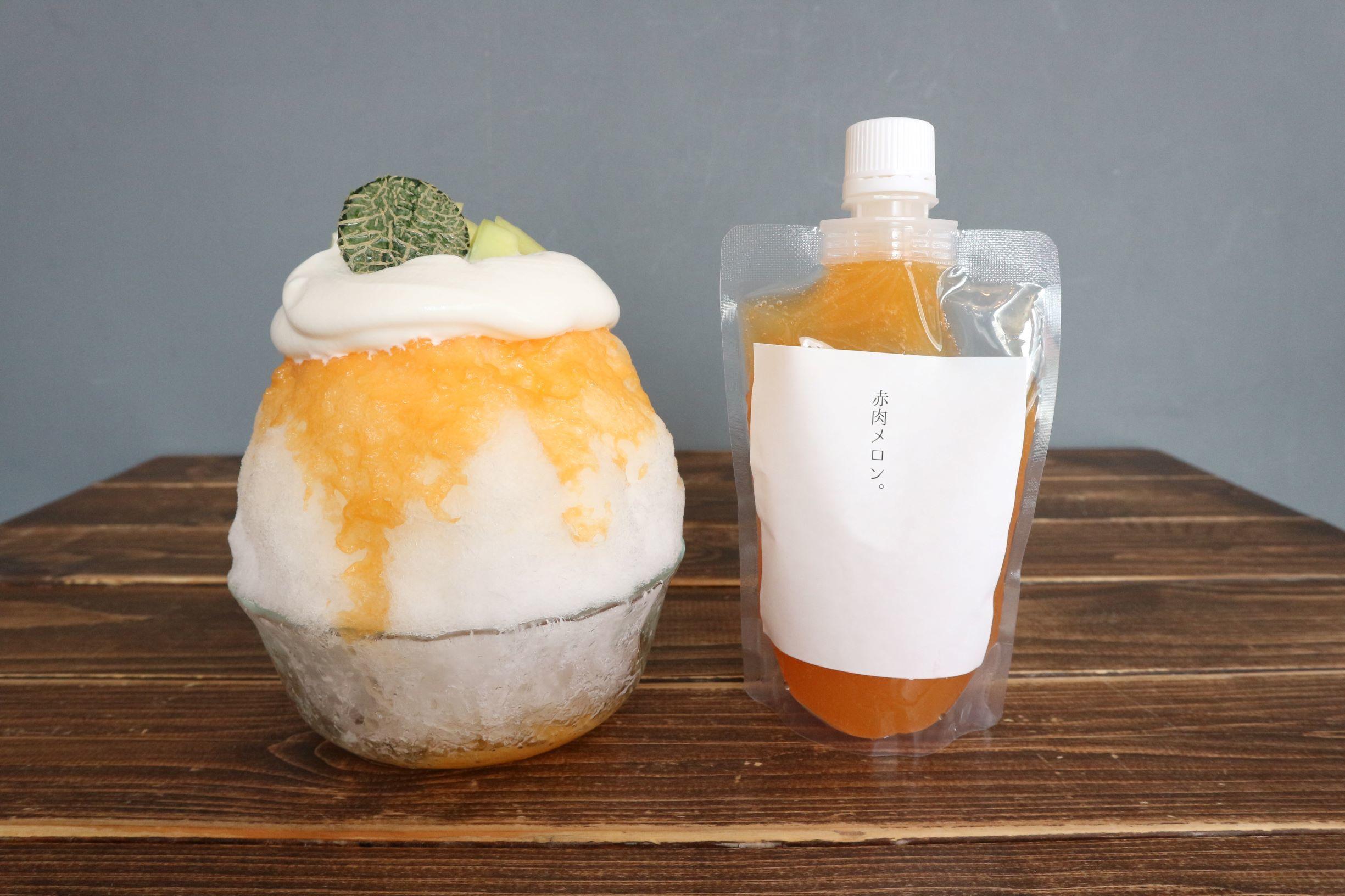 シロップ アレンジ かき氷