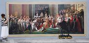「ナポレオンの戴冠式」 世界5カ国の首脳が描かれた隠し絵